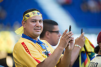 Harrison, NJ - Wednesday July 06, 2016: Fans during a friendly match between the New York Red Bulls and Club America at Red Bull Arena.