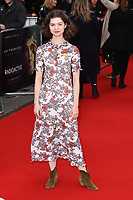 """Cara Bossom<br /> arriving for the """"Radioactive"""" premiere at the Curzon Mayfair, London.<br /> <br /> ©Ash Knotek  D3560 07/03/2020"""