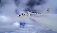 Segelflug, ASK 21, Wolken, Doppelsitzer