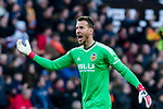 Goalkeeper Norberto Murara Neto of Valencia CF reacts during the La Liga 2017-18 match between Valencia CF and Real Madrid at Estadio de Mestalla  on 27 January 2018 in Valencia, Spain. Photo by Maria Jose Segovia Carmona / Power Sport Images