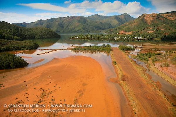 Village minier de Ouinné, côte oubliée, Nouvelle-Calédonie
