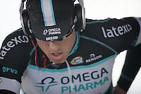 Zdenek Stybar (CZE) warming up to a sweat<br /> <br /> 2014 UCI cyclo-cross World Championships, EliteMen