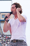 02.06.2012. David Bisbal performs during in the ´Cadena 100´ 20 th anniversary Concert at the stadium Vicente Calderon in Madrid. In the image: David Bisbal  (Alterphotos/Marta Gonzalez)