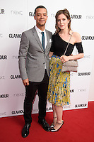 Raleigh Ritchie and girlfriend, Aisling Loftus<br /> arrives for the Glamour Women of the Year Awards 2016, Berkley Square, London.<br /> <br /> <br /> ©Ash Knotek  D3130  07/06/2016