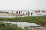 People on beach. Cape Cod, MA, U.S.