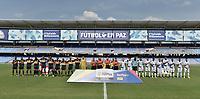 CALI - COLOMBIA, 01-02-2020: Atlético F.C. y Boca Juniors de Cali en partido por fecha 1 del Torneo BetPlay DIMAYOR I 2020 jugado en el estadio Pacscual Guerrero de la ciuad de Cali. / Atletico F.C. and Boca Juniors de Cali in match for the date 1 of the BetPlay DIMAYOR Tournament  I 2020 played at Pascual Guerrero stadium in Cali city. Photo: VizzorImage / Gabriel Aponte / Staff
