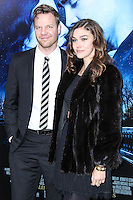 """NEW YORK, NY - FEBRUARY 11: Jim Parrack and guest at the World Premiere Of Warner Bros. Pictures' """"Winter's Tale"""" held at Ziegfeld Theatre on February 11, 2014 in New York City. (Photo by Jeffery Duran/Celebrity Monitor)"""