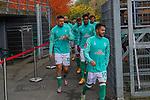 17.10.2020, Schwarzwald Stadion, Freiburg, GER, 1.FBL, SC Freiburg vs SV Werder Bremen<br /> <br /> im Bild / picture shows<br /> Leonardo Bittencourt  (Werder Bremen #10)<br /> Milos Veljkovic (Werder Bremen #13)<br /> Theodor Gebre Selassie (Werder Bremen #23)<br /> Ludwig Augustinsson (Werder Bremen #05)<br /> <br /> Foto © nordphoto / Bratic<br /> <br /> DFL REGULATIONS PROHIBIT ANY USE OF PHOTOGRAPHS AS IMAGE SEQUENCES AND/OR QUASI-VIDEO.