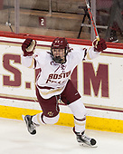 Delaney Belinskas (BC - 17) - The Boston College Eagles defeated the visiting Boston University Terriers 5-3 (EN) on Friday, November 4, 2016, at Kelley Rink in Conte Forum in Chestnut Hill, Massachusetts.The Boston College Eagles defeated the visiting Boston University Terriers 5-3 (EN) on Friday, November 4, 2016, at Kelley Rink in Conte Forum in Chestnut Hill, Massachusetts.