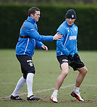 Jon Daly and Lee McCulloch