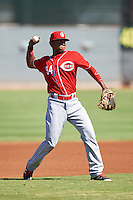 Cincinnati Reds Gabriel Ovalle (94) during an Instructional League game against the Chicago White Sox on October 11, 2016 at the Cincinnati Reds Player Development Complex in Goodyear, Arizona.  (Mike Janes/Four Seam Images)