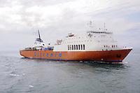 - ferry of Tirrenia company in the Livorno harbour<br /> <br /> - traghetto della compagnia Tirrenia  nel porto di Livorno