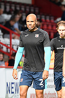 Jake Caprice of Exeter City during Stevenage vs Exeter City, Sky Bet EFL League 2 Football at the Lamex Stadium on 9th October 2021