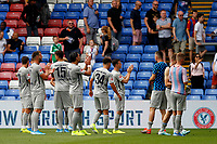 Hertha Berlin BSC players applaud their fans during the pre season friendly match between Crystal Palace and Hertha BSC at Selhurst Park, London, England on 3 August 2019. Photo by Carlton Myrie / PRiME Media Images.