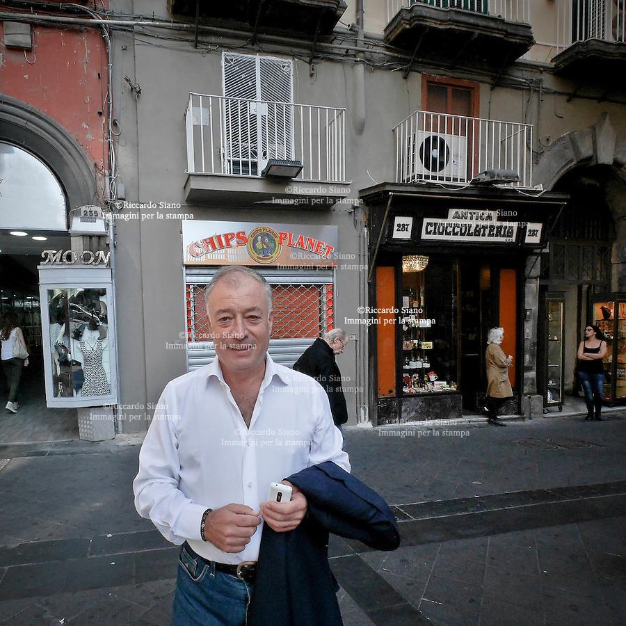 - NAPOLI 7 OTT 2014 -  gennaro carrino connsigliere I municipalità chiaia s. ferdinando posillipo