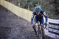 Steve Chainel (FRA)<br /> <br /> Men's Elite Race<br /> <br /> UCI 2016 cyclocross World Championships,<br /> Zolder, Belgium