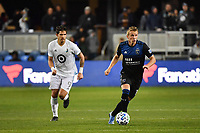 SAN JOSE, CA - MARCH 7: Jackson Yueill #14 of the San Jose Earthquakes during a game between Minnesota United FC and San Jose Earthquakes at Earthquakes Stadium on March 7, 2020 in San Jose, California.