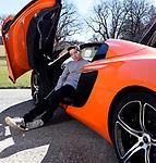 Bar Mitzvah Pre-Portrait Shoot with Lamborghini at Lyndhurst Castle