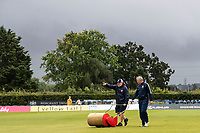 Dark Skies at Radlett during Middlesex vs Hampshire Hawks, Royal London One-Day Cup Cricket at Radlett Cricket Club on 30th July 2021