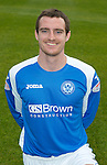 St Johnstone FC Season 2012-13 Photocall.David Robertson.Picture by Graeme Hart..Copyright Perthshire Picture Agency.Tel: 01738 623350  Mobile: 07990 594431