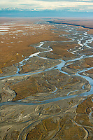 Aichiluk river draining out of the Brooks Range in the Arctic National Wildlife Refuge, Alaska.