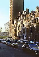 New York City: W. 89th--looking west to Riverside Drive from West End Ave. Photo '78.