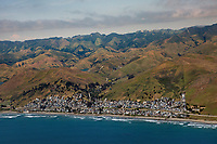 aerial photograph of Cayucos, San Luis Obispo County, California
