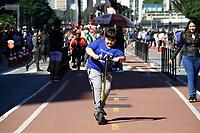 09.06.2019 - Movimentação na av Paulista em SP