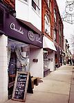 Delight handmade organic fair trade chocolate cafe shop at the Junction neighbourhood, Toronto, Canada