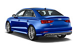Car pictures of rear three quarter view of 2015 Audi S3 Premium Plus 4 Door Sedan angular rear