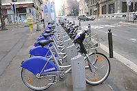 - Marsiglia, stazione di bike sharing<br />