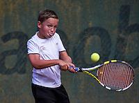 Hilversum, Netherlands, August 8, 2016, National Junior Championships, NJK, Kyvan Rietkerk (NED)<br /> Photo: Tennisimages/Henk Koster