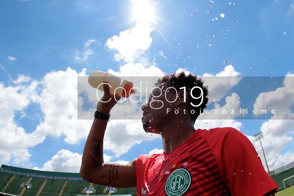 Campinas (SP), 03/01/2020 - Futebol / Guarani - Pablo. A equipe do Guarani realizou atividades físicas no estádio Brinco de Ouro, na manhã desta sexta-feira (3), na cidade de Campinas (SP).