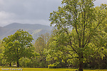 Storm clouds over Cades Cove, Great Smoky Mountains National Park, TN, USA