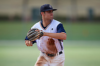 Josiah Miller during the WWBA World Championship at the Roger Dean Complex on October 20, 2018 in Jupiter, Florida.  Josiah Miller is a shortstop from Tallahassee, Florida who attends North Florida Christian High School and is committed to Florida State.  (Mike Janes/Four Seam Images)