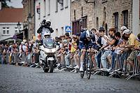 Remi Cavagna (FRA/Deceuninck-Quick Step)<br /> <br /> 88th UCI Road World Championships 2021 – ITT (WC)<br /> Men's Elite Time trial from Knokke-Heist to Brugge (43.3km)<br /> <br /> ©Kramon