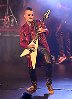 """FORT LAUDERDALE FL - SEPTEMBER 24: Kieran Robertson of the Geoff Tate band performs during """"Rage For Order"""" and """"Empire"""" in their entirety at The Broward Center for the Performing Arts on September 24, 2021 in Fort Lauderdale, Florida. Credit: mpi04/MediaPunch"""