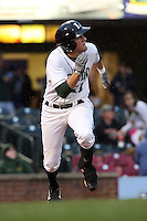 April 20, 2010: Jonathan Meyer (11) of the Lexington Legends at Applebee's Park in Lexington, KY. The Legends are the Class A affiliate of the Houston Astros. Photo by: Chris Proctor/Four Seam Images