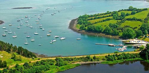 A secret place. Quoile Yacht Club's base is a peaceful haven