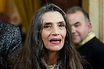 Angela Molina attends to the closing of the commemoration of the IV centenary of the death of Miguel de Cervantes at Royal Palace in Madrid, Spain. January 30, 2017. (ALTERPHOTOS/BorjaB.Hojas)