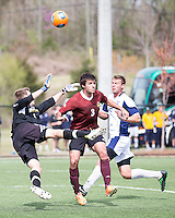 The Winthrop University Eagles played the UNC Wilmington Seahawks in The Manchester Cup on April 5, 2014.  The Seahawks won 1-0.  Jordi Lluch (3), Fabian Broich (1), Spencer Tayloe (2)