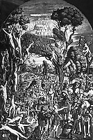 Ten Thousand Martyrs Crucified on Mt. Ararat Vittore Carpaccio (ca.1455-1526 Italian)