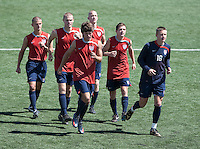 U17 Men's National  Team trianing. 2009 CONCACAF Under-17 Championship From April 21-May 2 in Tijuana, Mexico