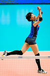 Yuki Ishii of Japan passes the ball during the match between China and Japan on May 30, 2018 in Hong Kong, Hong Kong. (Photo by Power Sport Images/Getty Images)
