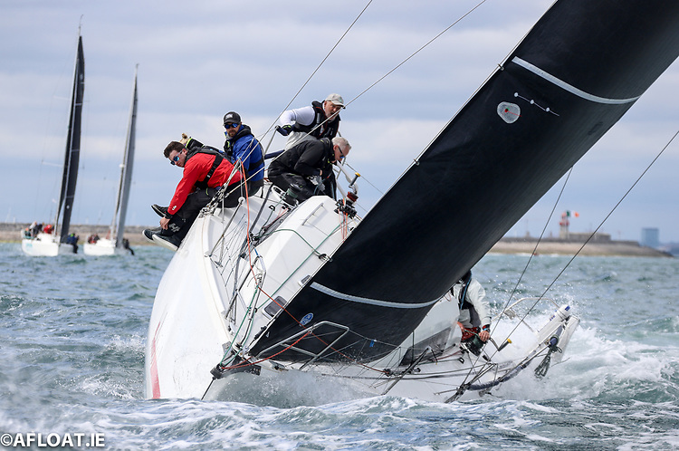 Newly into the podium positions is John O'Gorman's Sunfast 3600 Hot Cookie from the National YC