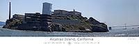 Alcatraz island with Latitude and Longitude