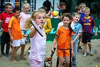 Den Bosch, Netherlands, 12 June, 2018, Tennis, Libema Open, KNLTB tennis kids, beach tennis<br /> Photo: Henk Koster/tennisimages.com