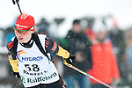MARTELL-VAL MARTELLO, ITALY - FEBRUARY 02: HENNECKE Carolin (GER) during the Women 7.5 km Sprint at the IBU Cup Biathlon 6 on February 02, 2013 in Martell-Val Martello, Italy. (Photo by Dirk Markgraf)