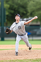 Kyle Ryan of the Gulf Coast League Tigers during the game against the Gulf Coast League Braves July 3 2010 at the Disney Wide World of Sports in Orlando, Florida.  Photo By Scott Jontes/Four Seam Images