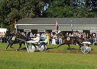 PAARDENSPORT: NUTSBAAN JOURE: 30-09-2013, Jouster Merke Draverij, ©foto Martin de Jong